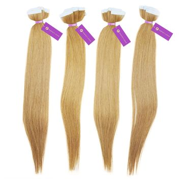 Straight Tape-In Hair Extension Bundle Deal