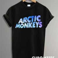 arctic monkeys shirt the arctic monkeys t-shirt printed black unisex size (CR-19)