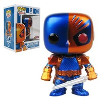 Deathstroke Metallic Previews Exclusive Pop! Vinyl Figure - Funko - DC Comics - Pop! Vinyl Figures at Entertainment Earth