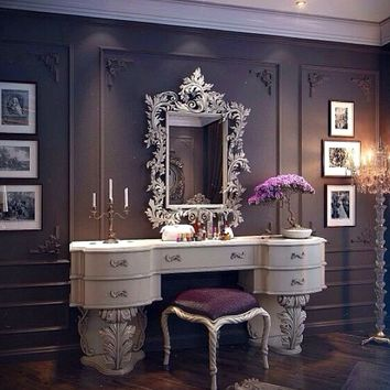 HEATHERWAY FEATHERED Vanity Table