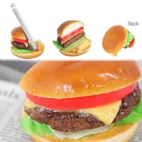 Strapya World : Delicious Food Stands for Smartphone (Cheese Burger)