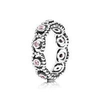 PANDORA Pink Her Majesty Ring - Size 4.5