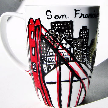 Your Home Town or State Mug - San Francisco Coffee Cup