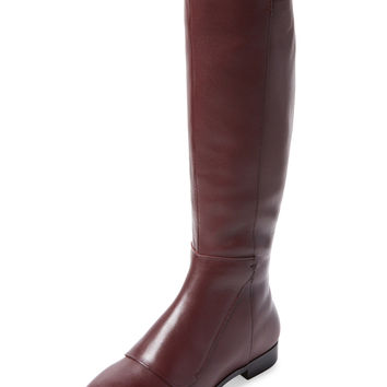 Firth Women's Raylyn Flap Leather Boot - Red -