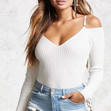 Contemporary Ribbed Bodysuit