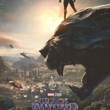 Black Panther Wakanda Marvel Comics Poster 22x34