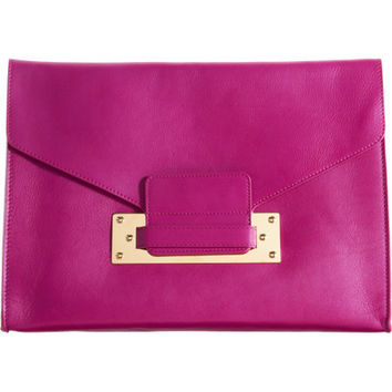 Sophie Hulme Crossbody Envelope Clutch at Barneys.com