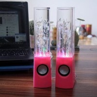 Nuwa Music Fountain Mini Amplifier Dancing Water Speakers I-station7 Apple Speakers