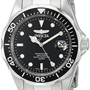 Invicta Men's 8932 Pro Diver Collection Silver-Tone Watch