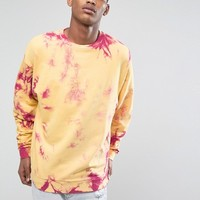 ASOS Oversized Tie Dye Sweatshirt at asos.com