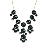 Bubble Necklace,Statement Necklace, Bubble Jewelry(Fn0508-Black) | AihaZone Store