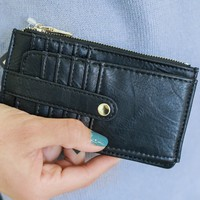 By The Book Wallet - Black