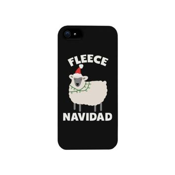 Fleece Navidad Funny Christmas Phone Case for iphone 4, iphone 5, iphone 5C, iphone 6, iphone 6 plus, Galaxy S3, Galaxy S4, Galaxy S5, HTC One M8, LG G3
