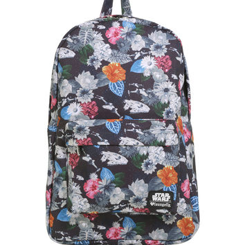 Loungefly Star Wars Floral X-Wing Millennium Falcon Backpack