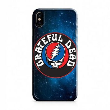 GRATEFUL DEAD AMERICA ROCK BAND iPhone X Case