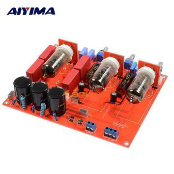 ac NOOW2 AIYIMA Pre Tube Amplifiers Audio Board Fever 6N1 Bile Tone Board Two Channel Balanced Output