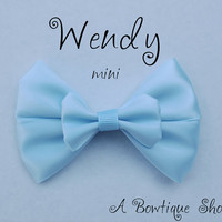 wendy mini hair bow