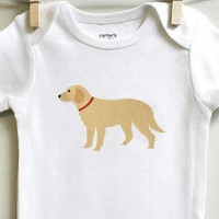 Golden Retriever Baby Clothes for Baby Boy or Baby Girl