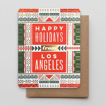 Happy Holidays from Los Angeles