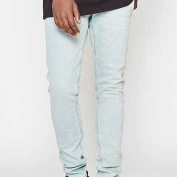 DCCKJH6 Stacked Skinny Comfort Stretch Light Jeans