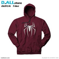 spiderman logo coloring for Custom Hoodie