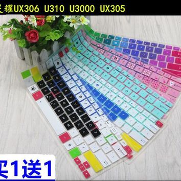 13.3'' Laptop Notbook Keyboard Cover Protector Skin for Asus Zenbook UX330UA U303LN U306UA UX360UA U306UA6200 UX330