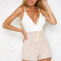 All My Life Playsuit Nude