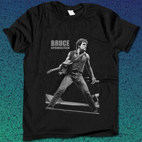 Bruce Frederick Joseph Springsteen Bruce Springsteen Born to Run concert for T Shirt Mens and T Shirt Girls