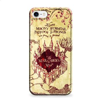 Marauders Map harry potter iPhone 7 | iPhone 7 Plus case