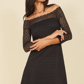 Unequivocal Allure Lace Dress | Mod Retro Vintage Dresses | ModCloth.com