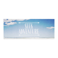 "Susannah Tucker ""Seek Adventure"" Beach Bed Runner"