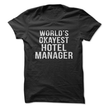 World's Okayest Hotel Manager