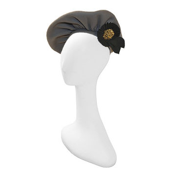 1940s Gray Pancake Beret by New York Creations