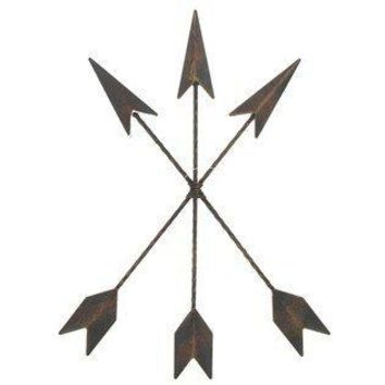 Cast Iron Native American Arrow Wall Decor 1