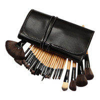 "24-piece Professional Make-Up Brush Set with Case - Free Boyz II Men Single Cd with purchase - Song  ""I'll Make Love to You!"""