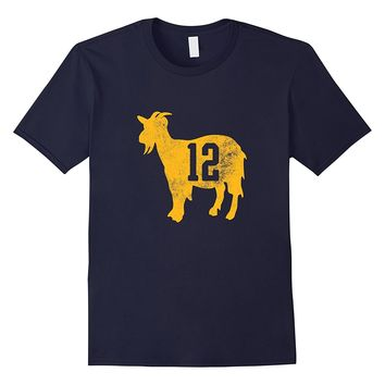 Green Bay 12 GOAT T Shirt