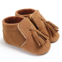 Baby Lace Up Loafers