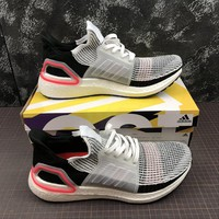Adidas Ultra Boost 2019  UB 5.0 Laser Red Sport Running Shoes - Best Online Sale