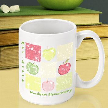Teacher Coffee Mug - 11 Designs - Apples, Music and More