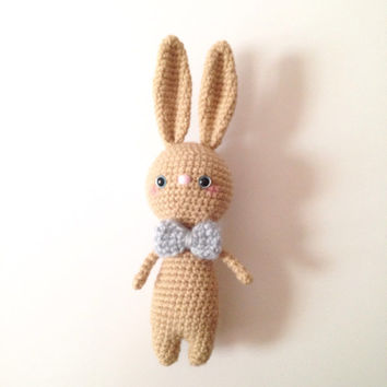 Amigurumi Bunny Easter Bunny Crochet Bunny Rabbit Crochet Doll Bunny Toy Plush Kids Toy Kawaii Doll Easter Baby Shower Birthday Gift Ideas