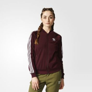 adidas Supergirl Track Jacket - Brown | adidas US