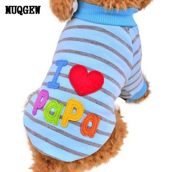 DCCKU7Q dog clothes for small dogs puppy chihuahua pet clothes  pug clothing dog  roupa pet para gato
