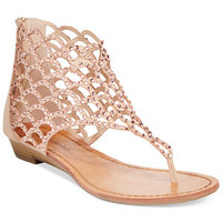 ZiGi Soho Mela Caged Flat Thong Sandals