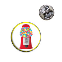 Gumball Machine Candy Lapel Pin