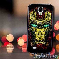 Iron Man Mask Line Art,Accessories,Case,Cell Phone, iPhone 4/4S, iPhone 5/5S/5C,Samsung Galaxy S3,Samsung Galaxy S4,Rubber,26/11/17/Rk