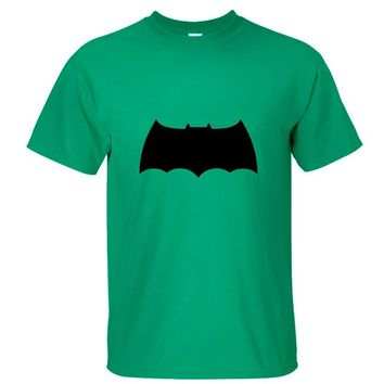CRAZY POMELO® Superhero Batman Logo Print Short-sleeved Men's T-shirt