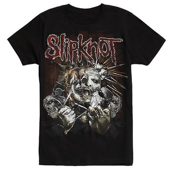 Slipknot Ripped Masks T-Shirt