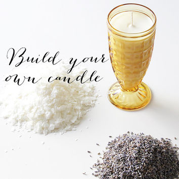 Build Your Own Candle: Pick Your Scent And Vintage Glass. Natural Soy Candles. Home Decor And Gifts. Custom Candles