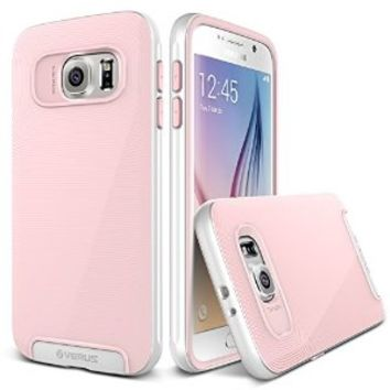 Galaxy S6 Case, Verus [Crucial Bumper][Cream Pink] - [Drop Protection][Low Profile][Slim Fit] For Samsung Galaxy S6