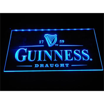 a002 Guinness Vintage Logos Beer Bar LED Neon Sign with On/Off Switch 7 Colors to choose